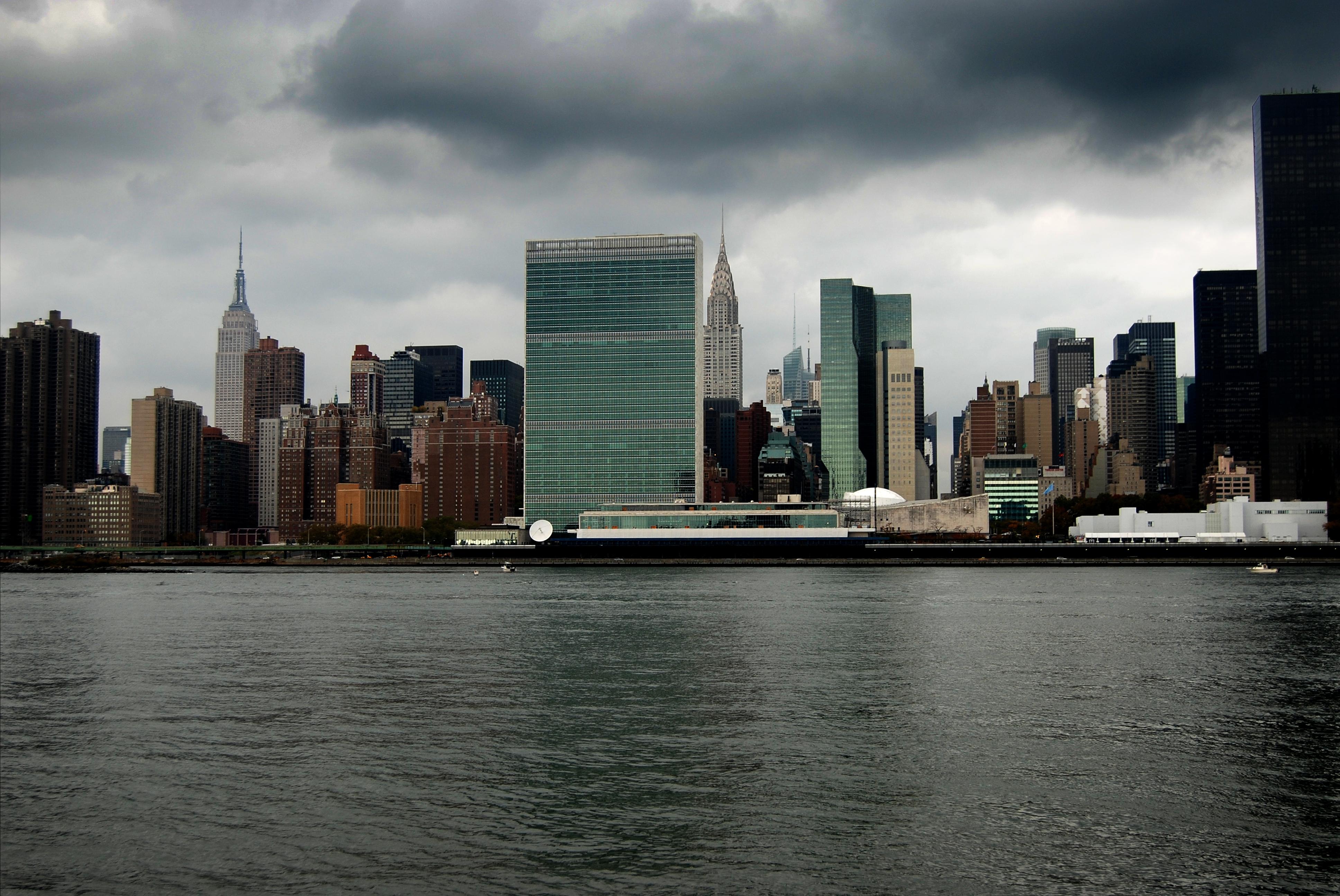 Manhattan Skyscape